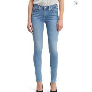 Levi's 311 Shaping Skinny Light Blue Jeans Sz 29